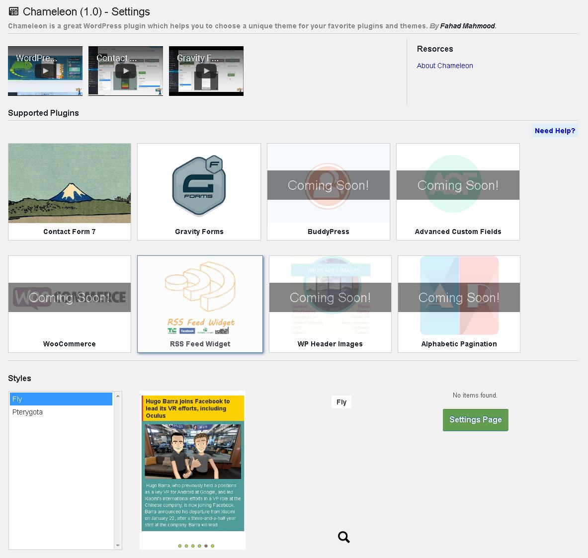 free rss feed widget for website