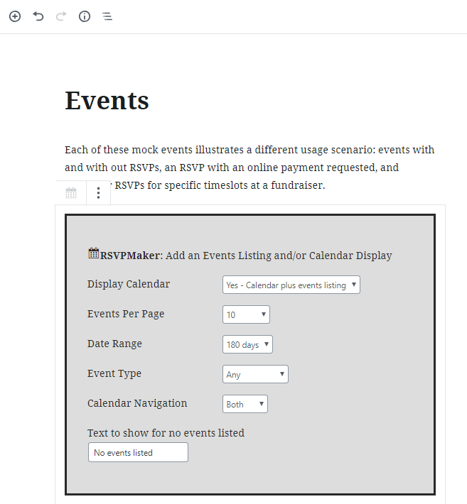 Use the built-in mailer to send email newsletters, such as roundups of events.
