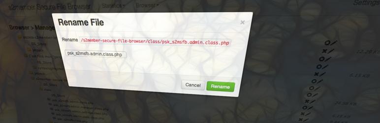s2member Secure File Browser