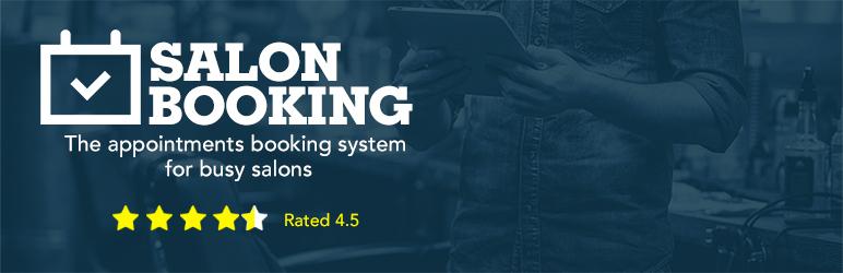 Salon booking system