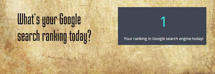 SC Google Ranking