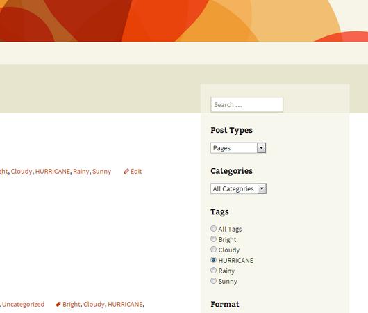 Search & Filter – WordPress plugin | WordPress org