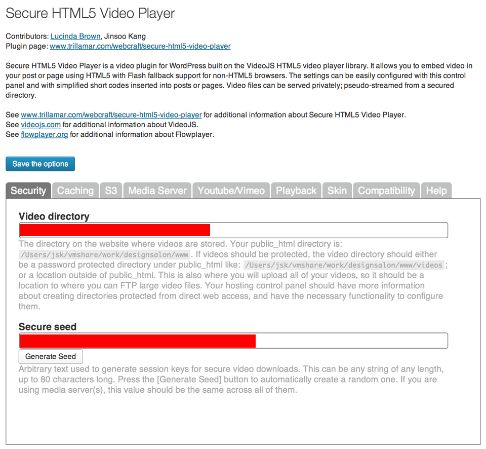 secure-html5-video-player screenshot 1