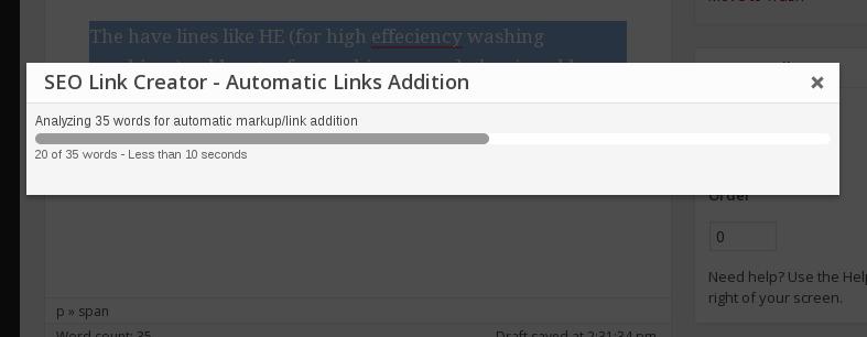 Automatically adding links