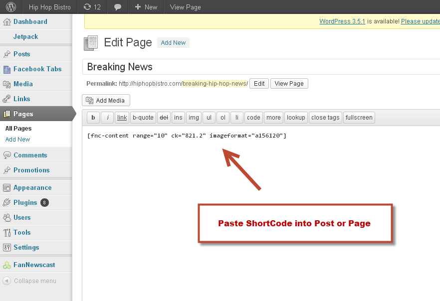 seo-with-fannewscast screenshot 4