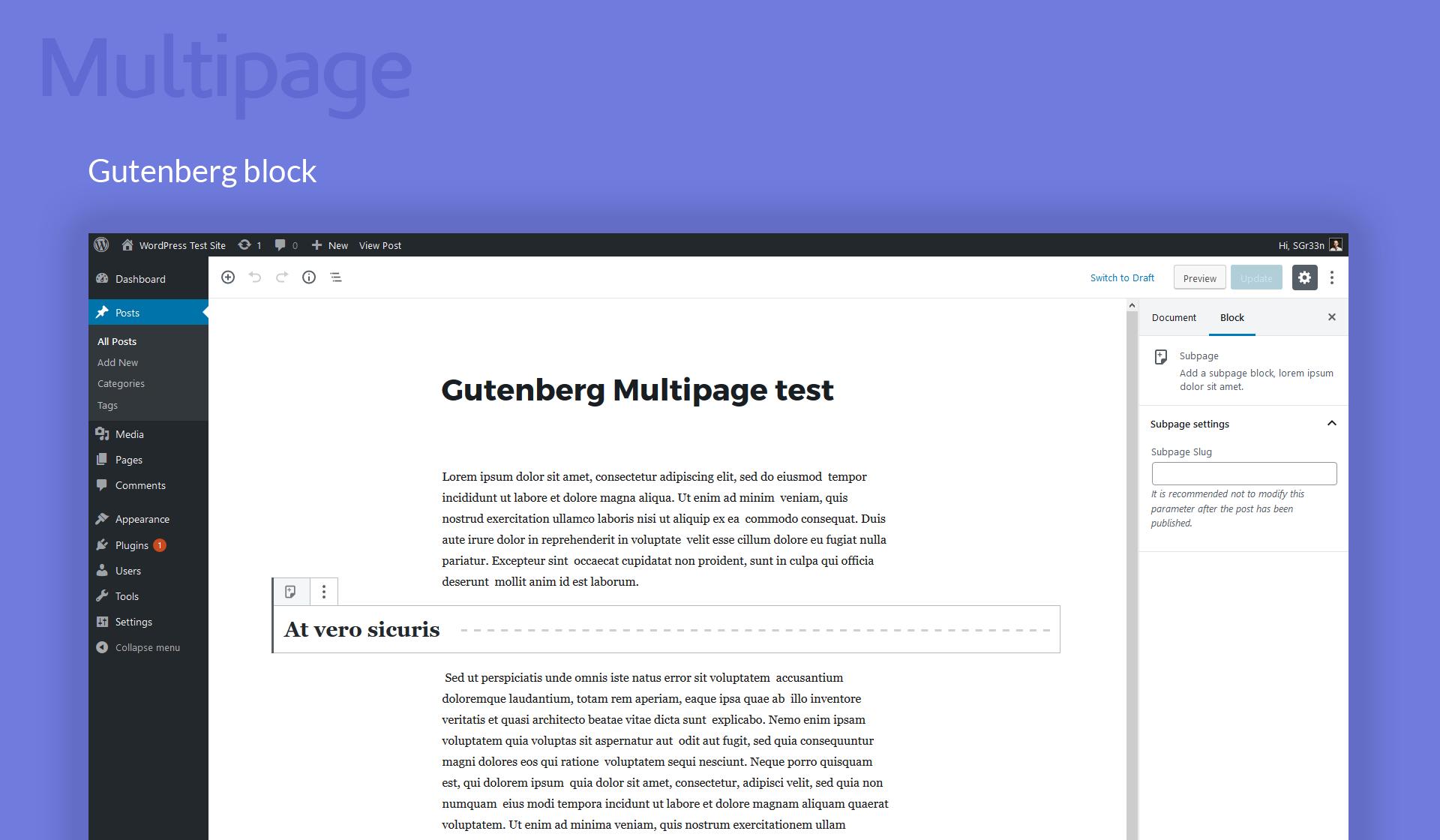 wordpress plugin for purchasing