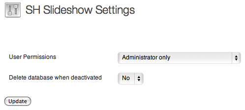 <strong>Administrator Settings</strong> - Administrator can give the permission to other user levels.