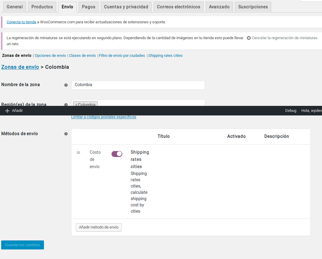 Agregar método en zona de envío screenshot-3.png