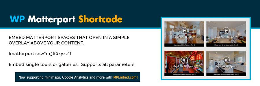 Shortcode for Matterport