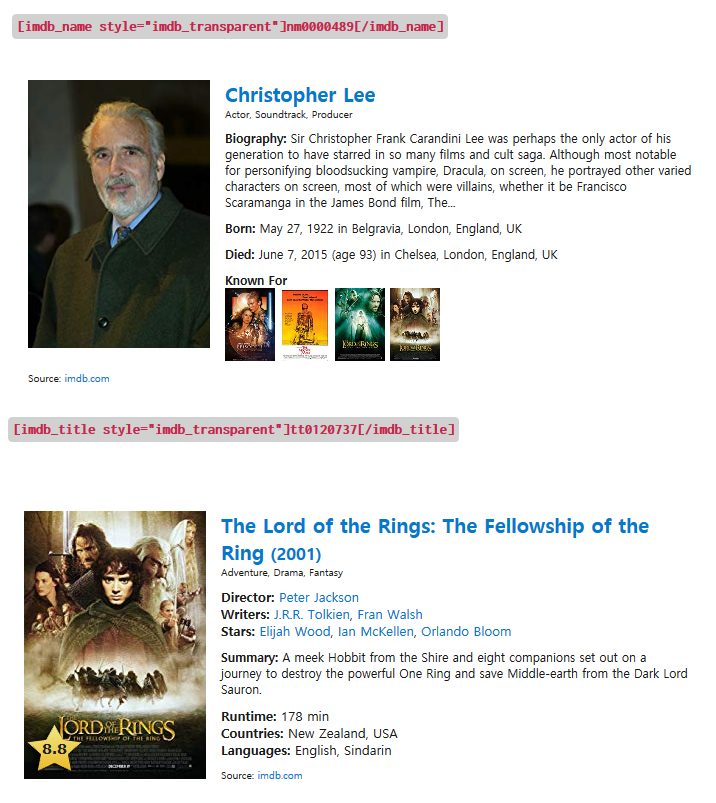 2ad486b1c26 Shortcode IMDB – WordPress plugin