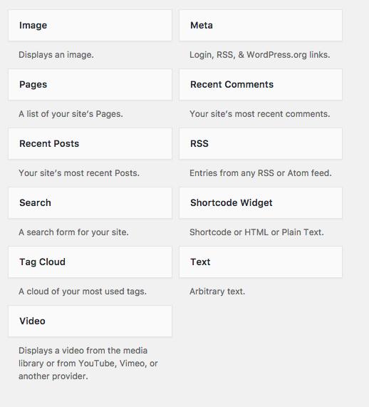 Shortcode Widget – WordPress plugin | WordPress org