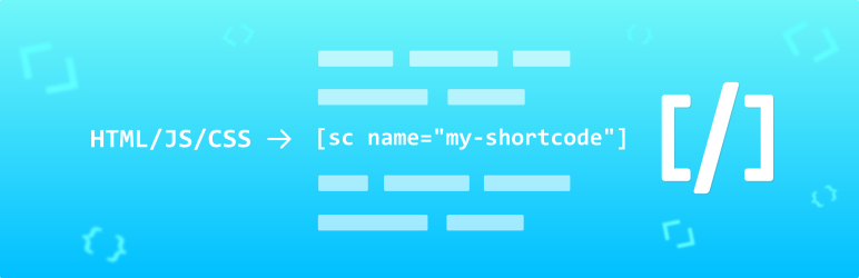 Shortcoder — Create Shortcodes for Anything