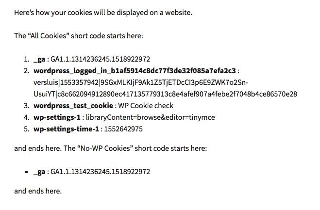 Example of shortcode displayed in TwentyThirteen theme