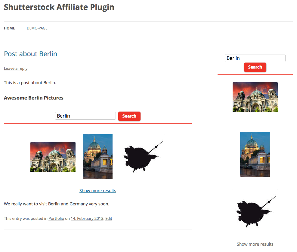 shutterstock-affiliate-plugin screenshot 6