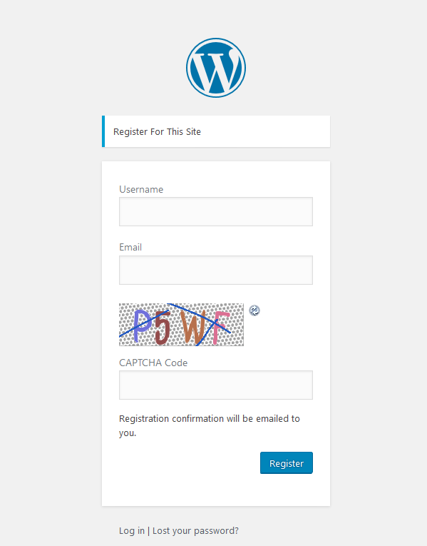 <p>screenshot-2.png is the captcha on the registration form.</p>