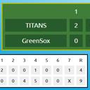 Thumbnail of Simple Baseball Scoreboard