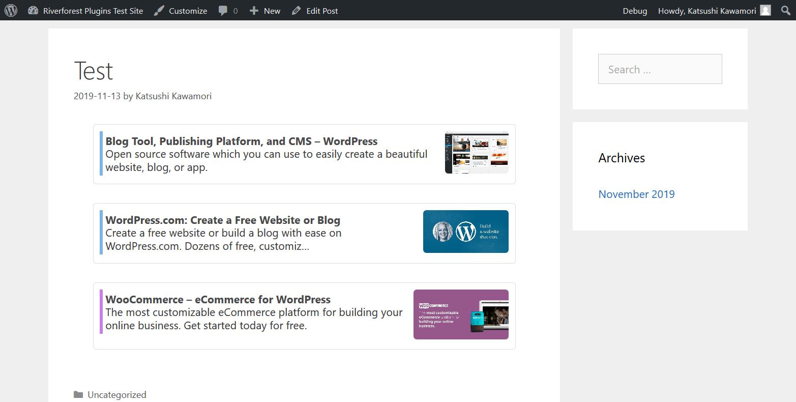 Simple Blog Card – WordPress Plugin   WordPress.org Deutsch
