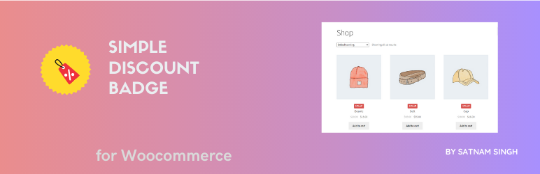 Simple Discount Badge for Woocommerce