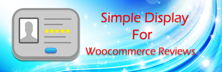 Simple Display For Woocommerce Reviews