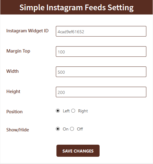 simple-instag-feeds screenshot 3