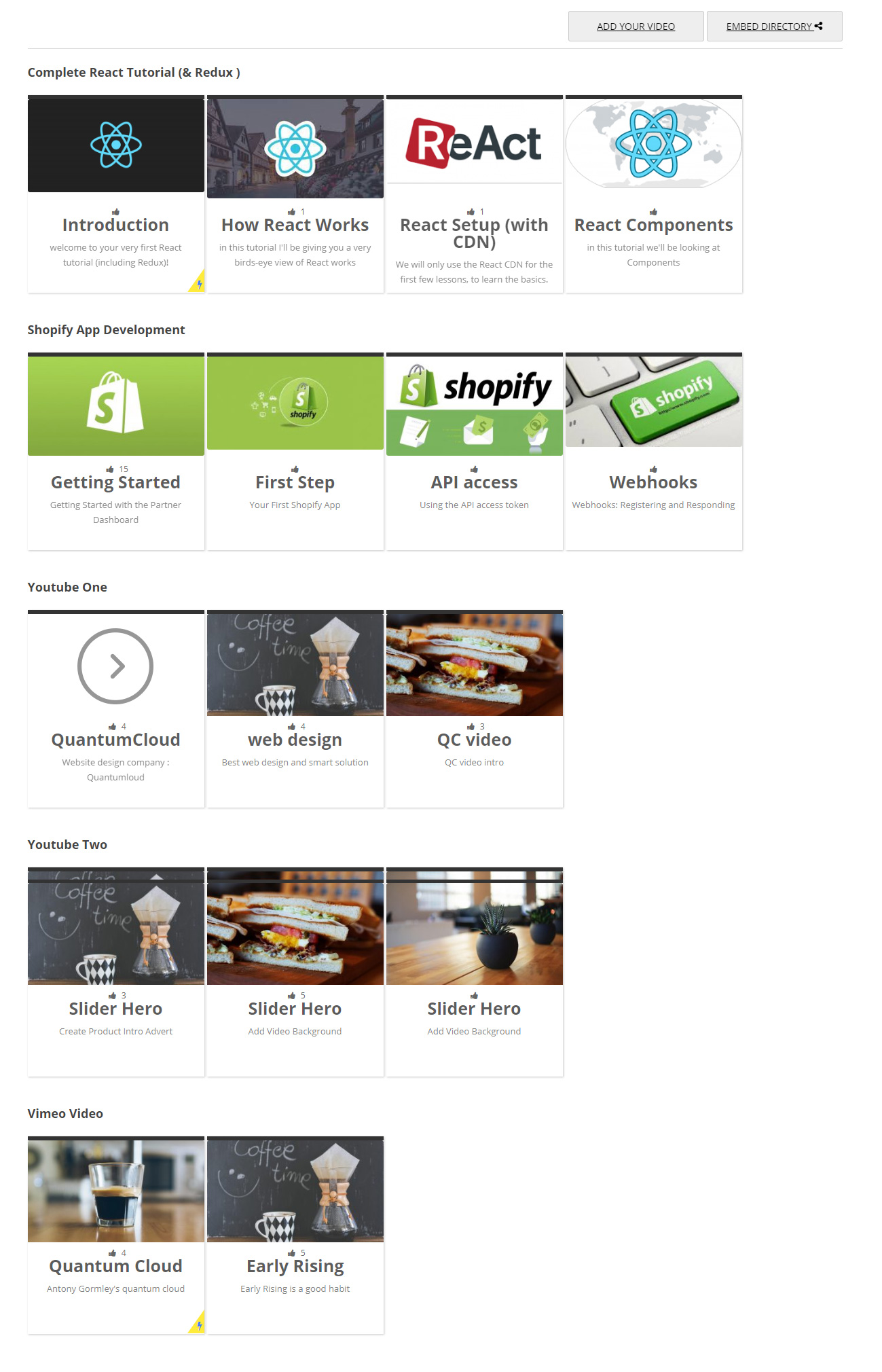 Simple Video Directory – Plugin WordPress | WordPress org