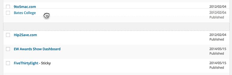 Simple Page Ordering wordpress plugin Download