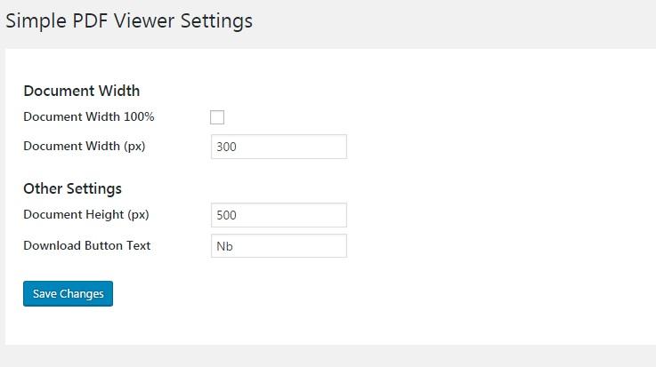 本文にアップロードしたPDFファイルを表示するプラグイン「Simple PDF Viewer」の画像|Knowledge Base