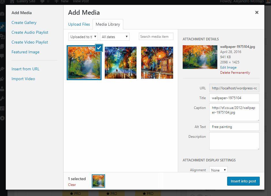 Post Gallery – WordPress plugin | WordPress org
