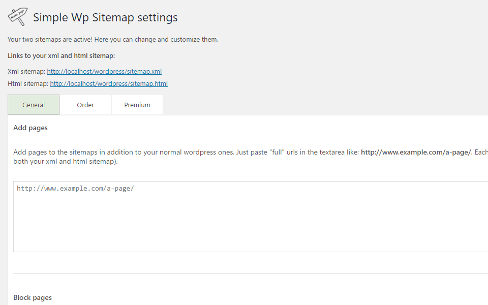 simple wp sitemap wordpress org