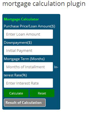 simplify-mortgage-calculation screenshot 1
