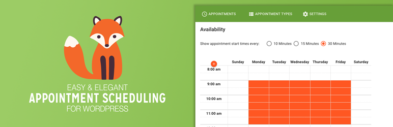 Simply Schedule Appointments – WordPress plugin | WordPress org