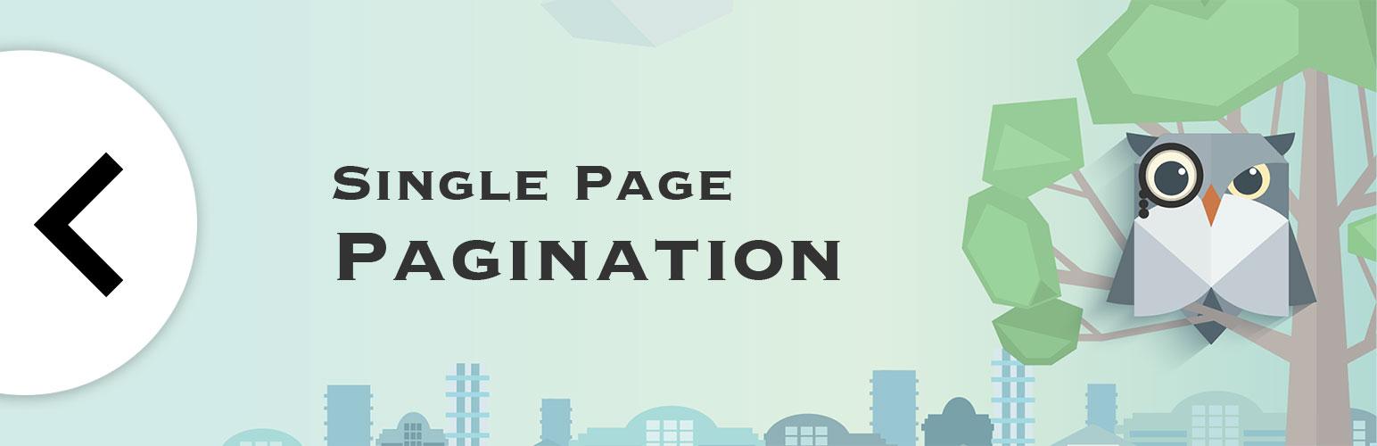 Single Page Pagination