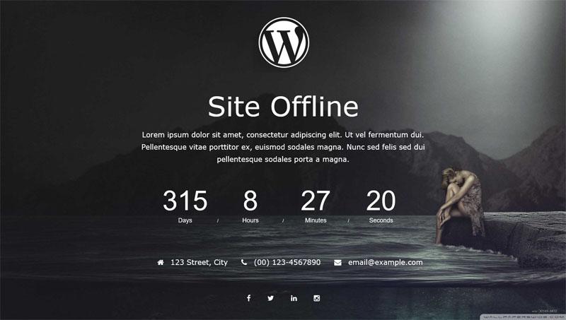 Site Offline Or Coming Soon Or Maintenance Mode – WordPress plugin |  WordPress.org