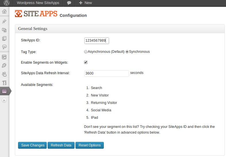 siteapps screenshot 2