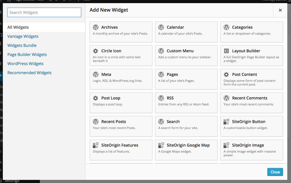 Page Builder by SiteOrigin – WordPress plugin | WordPress org