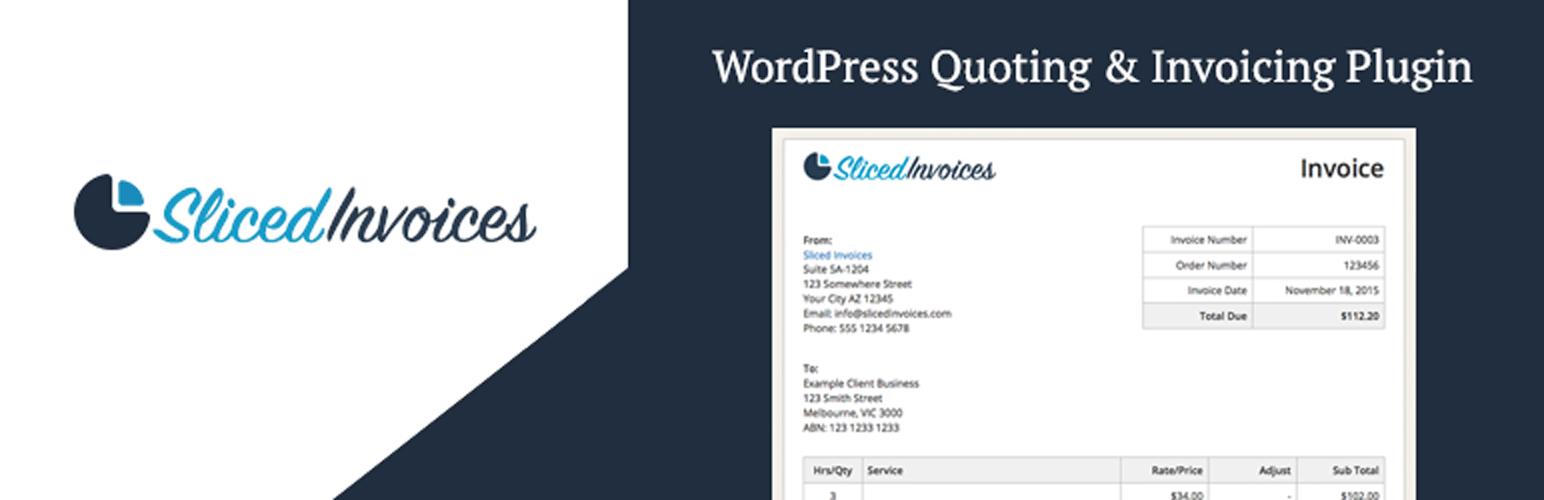 Sliced Invoices WordPress Invoice Plugin WordPressorg - Invoice generator plugin for wordpress