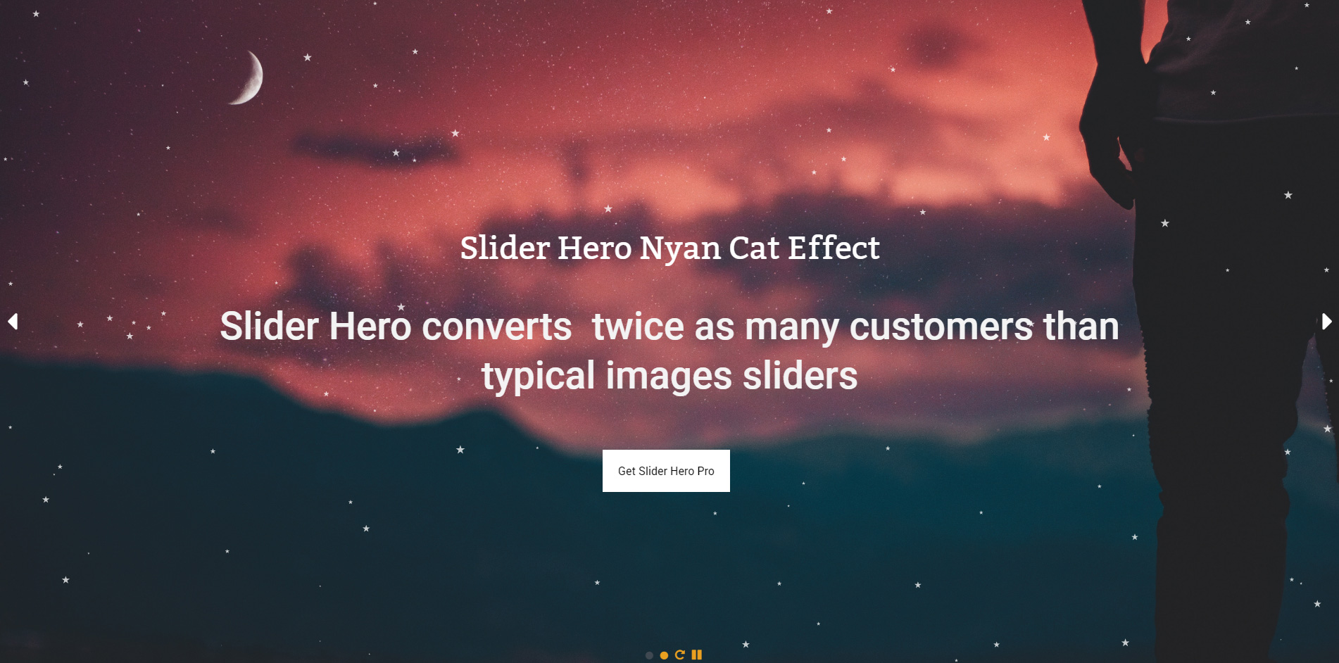 Slider Hero with Animation, Video Background & Intro Maker