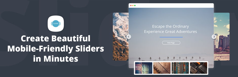Slider by 10Web – Responsive Image Slider