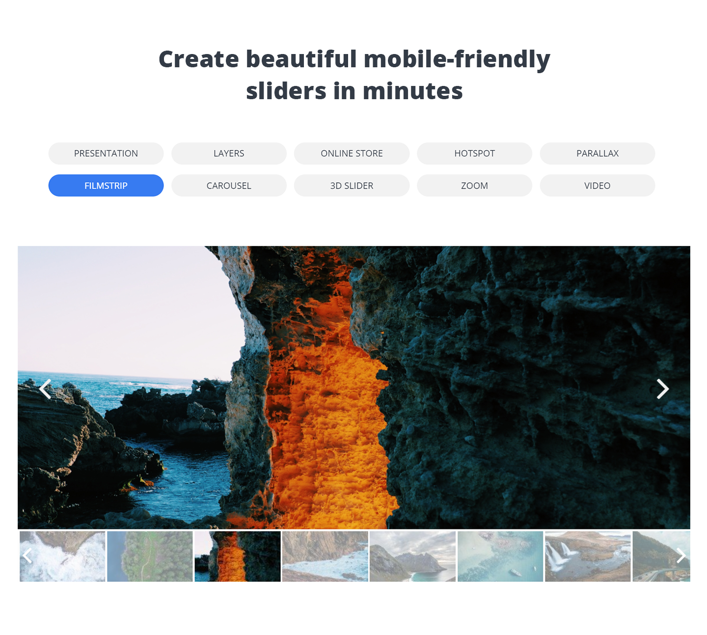 Slider by 10Web - Slides