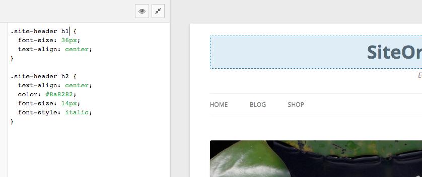 live wordpress css editor siteorigin