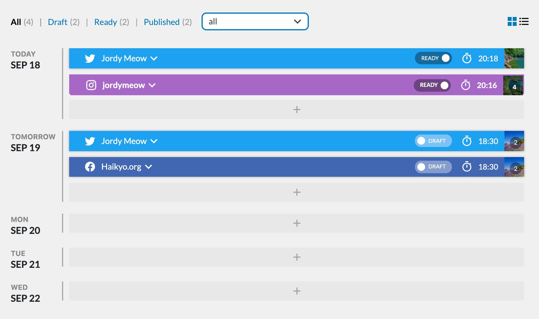 Social Engine (Schedule & Publish Social Content)