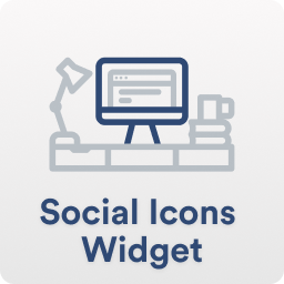 Social Icons Widget Block By Wpzoom Wordpress Plugin Wordpress Org