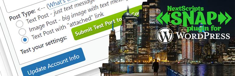 NextScripts: Social Networks Auto-Poster