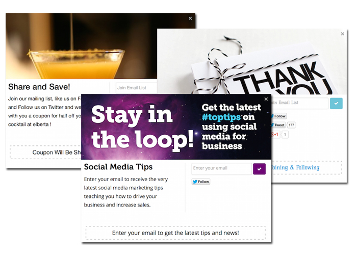 Social Offers Example
