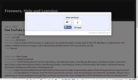 Screenshot of the plugin hidding a page.