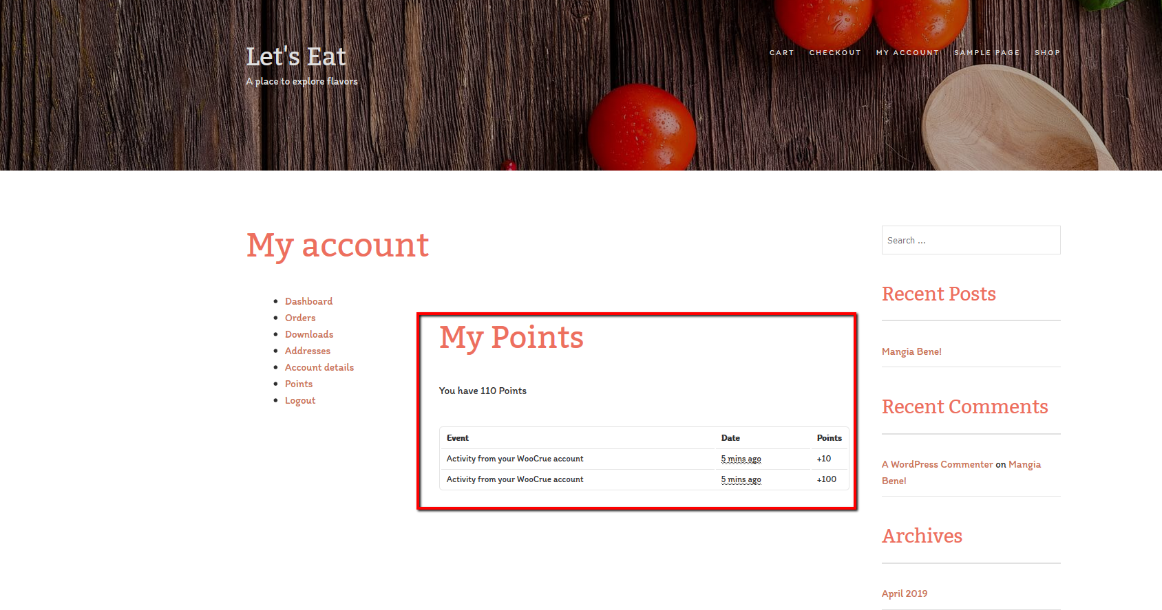 With the WooCommerce Points and Rewards plugin, user points earned in SocialToaster transfer to WooCommerce.