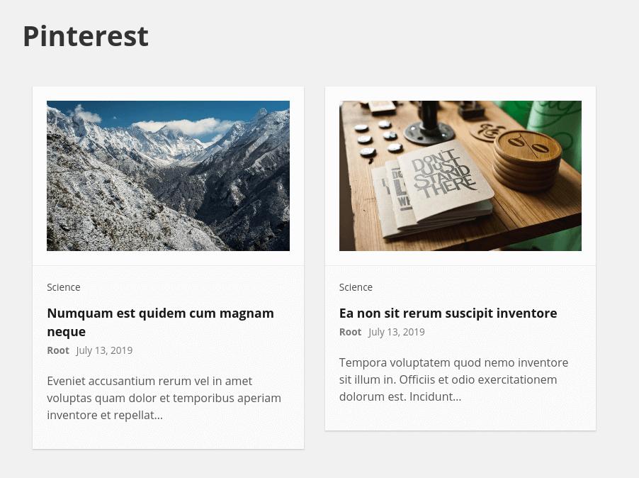 带有分页的WordPress发布网格布局– Sogrid