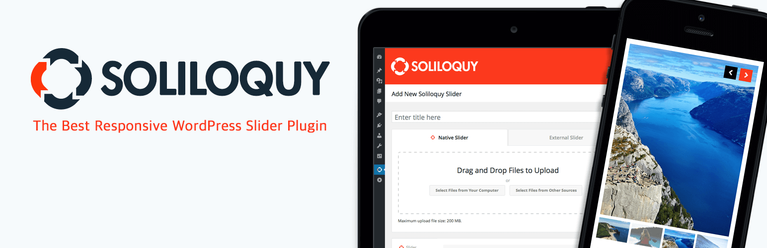 Slider by Soliloquy — Responsive Image Slider for WordPress