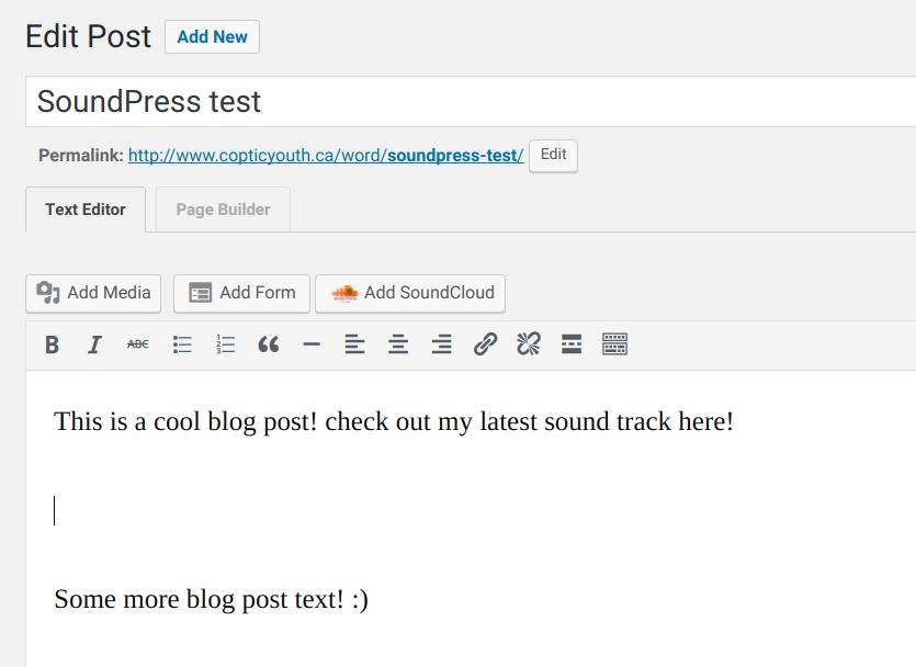 SoundPress Plugin
