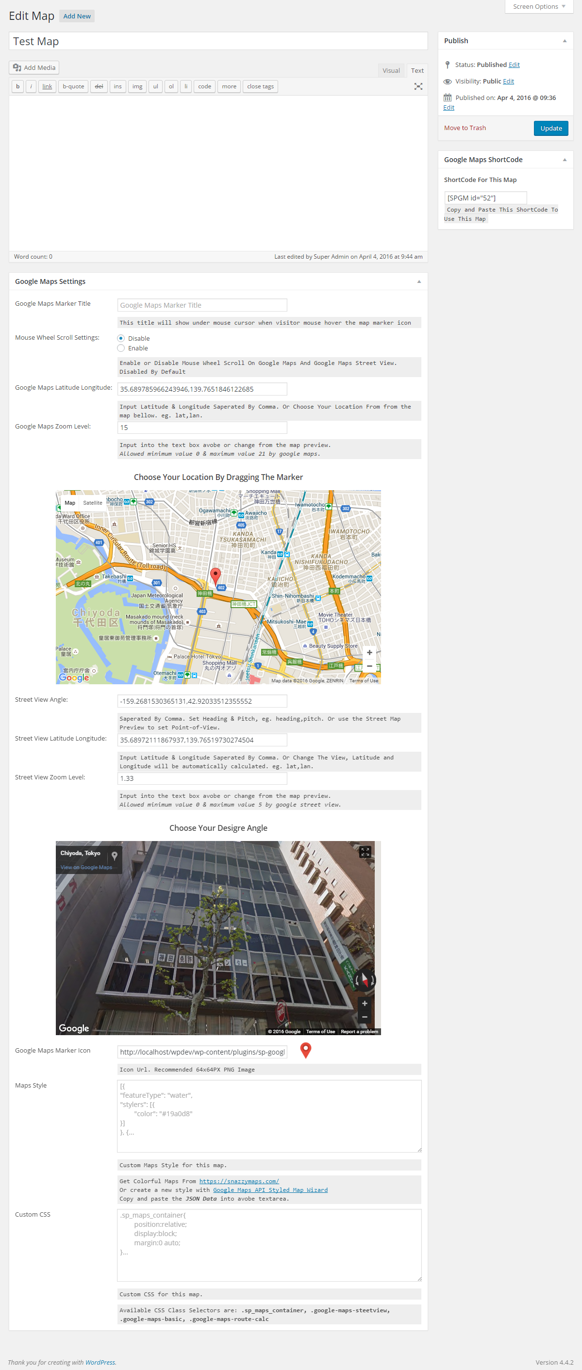 SP Google Maps | WordPress.org